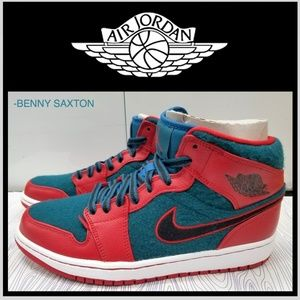 BRAND NEW NIKE AIR JORDAN 1 MID GUCCI DARK SEA